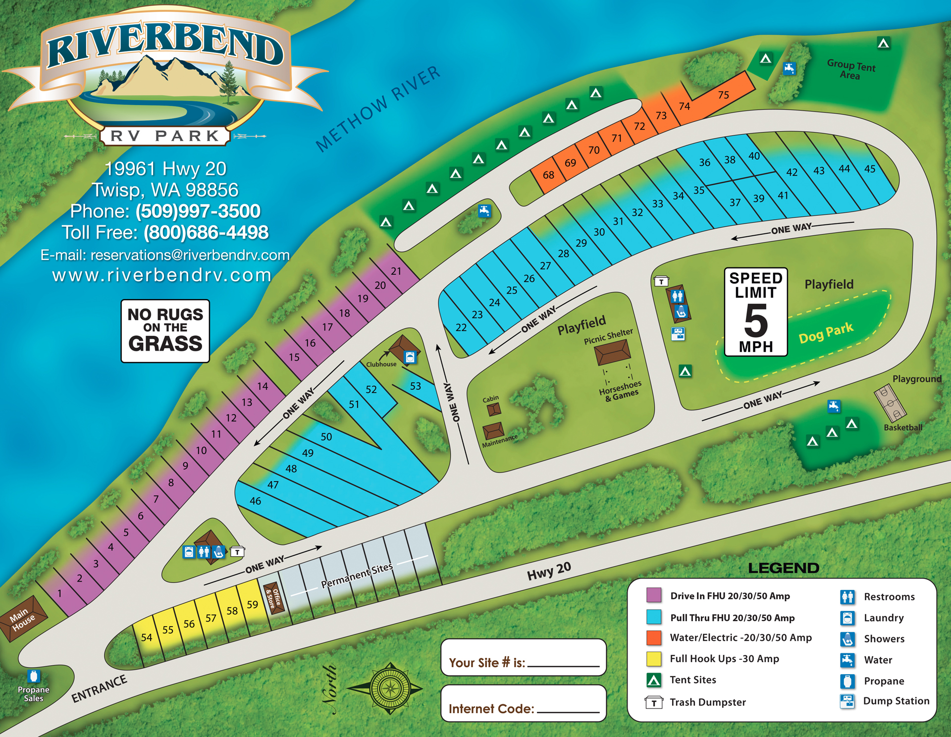 2016 Riverbend_Map